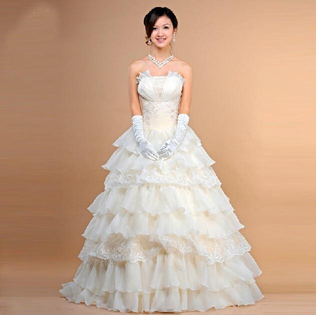 2015 Wholesale Price Bride Wedding Dress Formal Dress Tube