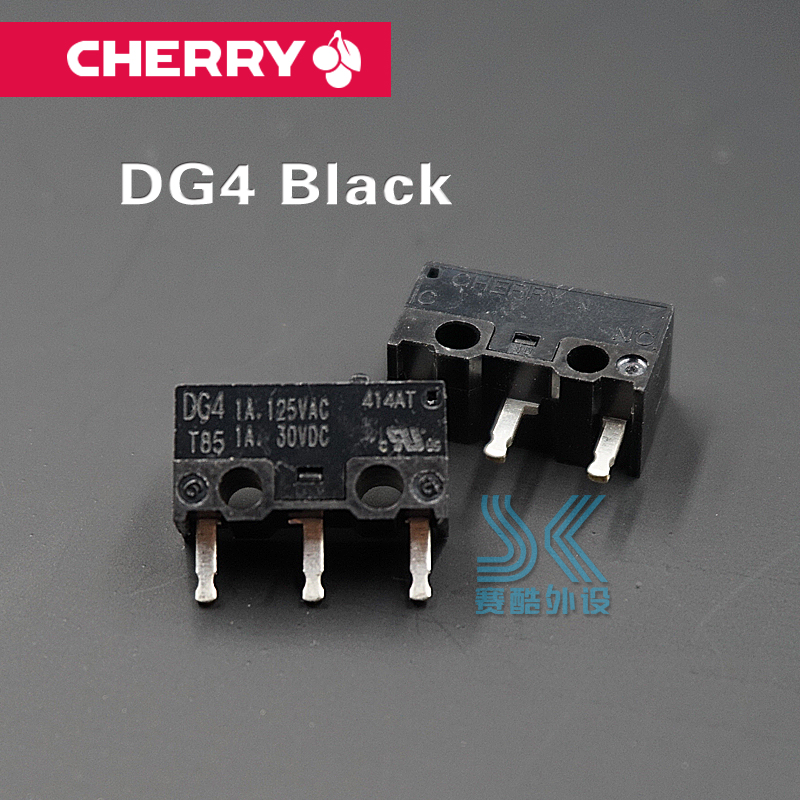 Original Cherry Mouse Micro Switch DG1 DG2 DG4 DG6 Black Grey Dot Micro Button For Logitech SteelSeries Most Of The Gaming Mouse