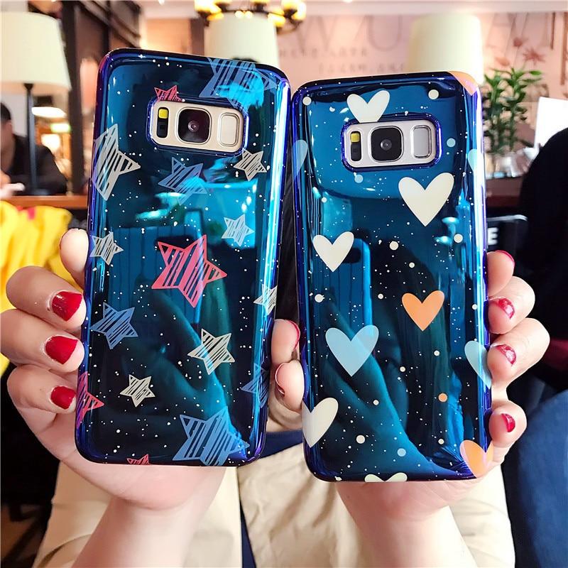 LOVECOM Blu Ray Phone Case For Samsung Galaxy S7 Edge S8