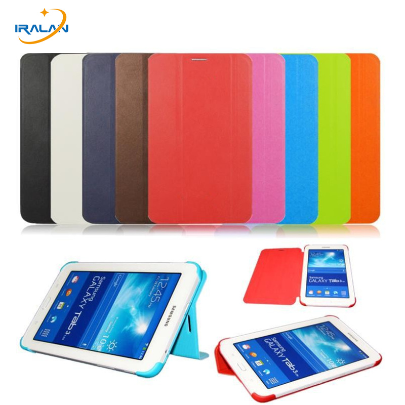 New Luxury Slim Leather Cover Case for Samsung Galaxy Tab 4 7.0 7 SM-T230 T231 T235 Tablet Case + Screen Protector + stylus чехол для планшета 0asis samsung tab4 t230 t230 7 for galaxy tab 4 t230