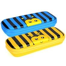kawaii The bees school  Pencil case eva for boys and girs estuche escolar Pen bag supplies Brush pot astuccio boxes