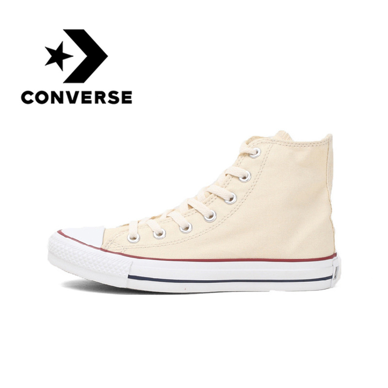 Converse High Top Skateboarding Shoes Original Classic Unisex Canvas Anti-Slippery Casual Balanced Lace-up Light SneaksersConverse High Top Skateboarding Shoes Original Classic Unisex Canvas Anti-Slippery Casual Balanced Lace-up Light Sneaksers