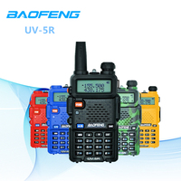 5km Baofeng UV 5R Walkie Talkie 136 174/400 520MHz Dual Band FM Ham With Earphone Programming Cable Car Charge For Adult Port