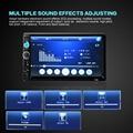 7010B 7 ''HD Сенсорный Экран Bluetooth 2-DIN Автомобильный Стерео Радио FM/MP5/MP3/USB/AUX-IN Mp3-плеер + 420 Твл камера
