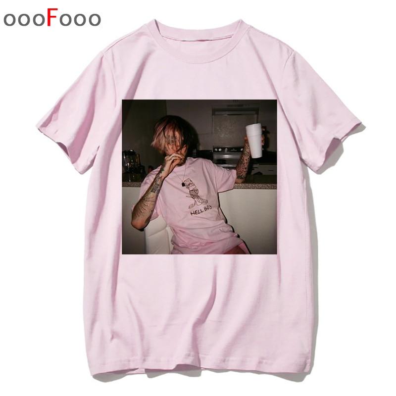 Lil Peep peep t camisa rapper rap hip hop Lil. Cry Baby t-shirt camiseta top tee camisas tshirt engraçado homens masculino/mulheres Impresso