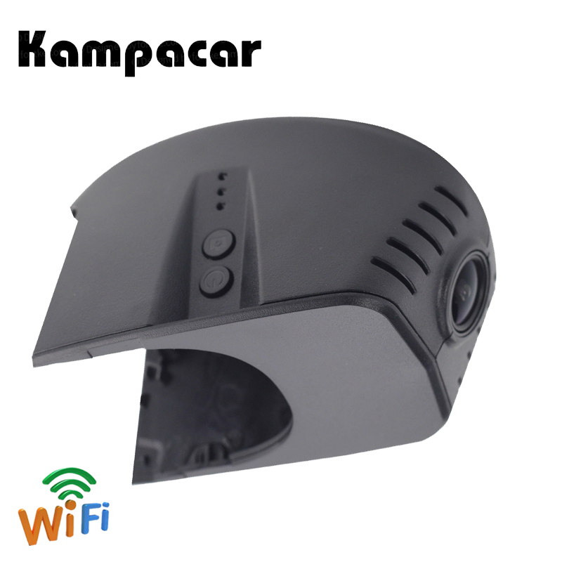 Kampacar Dash Camera Wifi Video Recorder For Audi A1 A3 A4L A5 S5 RS5 8T 8F7