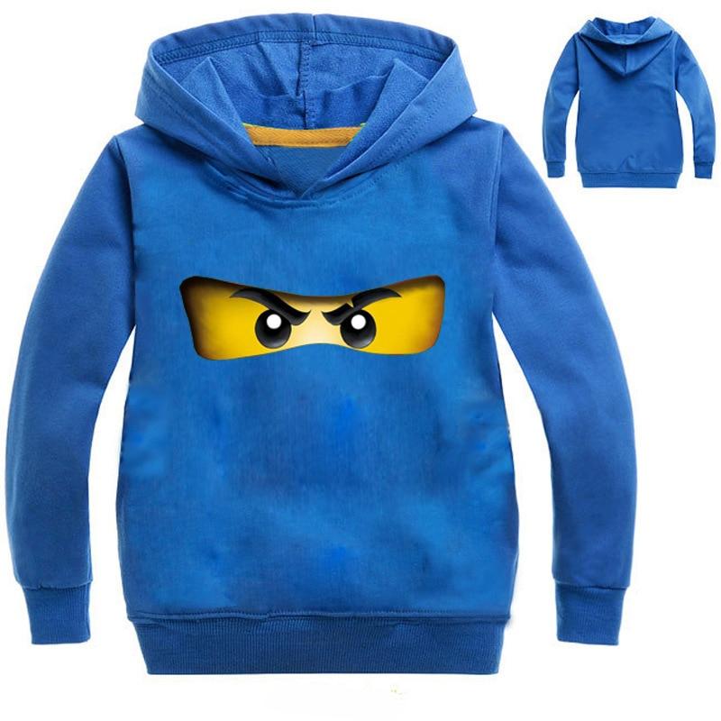 цена на Kids Boys Clothes Ninja Ninjagoed Hoodies Girls Top Tees T Shirts Children Long Sleeve Coat Baby Girls Jacket Outwear Clothing