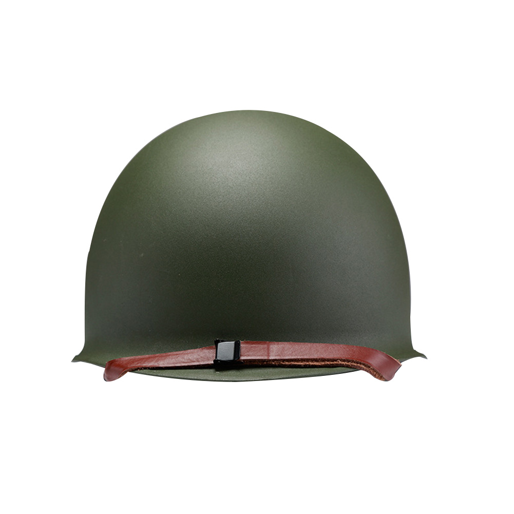 M1 Adjustable Military Helmet Steel Safety Equipment Game Paintball Cycling Rock Climbing Portable Army Double Layers Protective