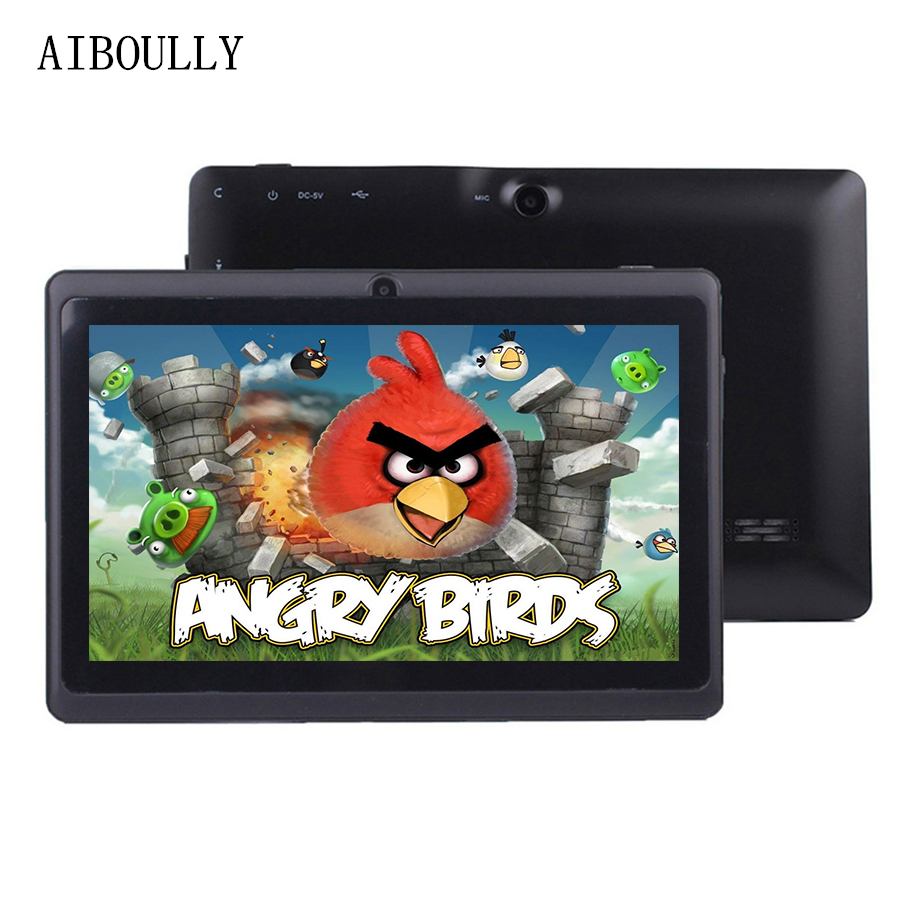 AIBOULLY 7 Inch Tablets Android PC 6 Original Kids Tablet Pc WiFi Bluetooth Quad Core 1GB RAM Children Baby Drawing Tab 8 9.7''