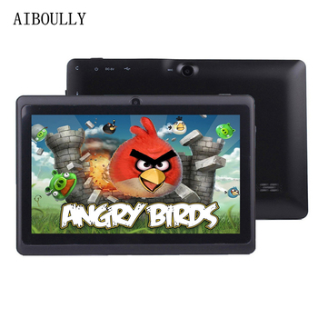 AIBOULLY 7 inch Tablets Android PC 6 Original Kids Tablet pc WiFi Bluetooth Quad Core 1GB RAM Children Baby Drawing Tab 8 9.7'' image