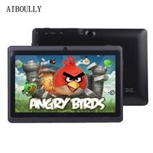AIBOULLY 7 дюймов Планшеты Android PC 6 Оригинальный Детские планшеты pc Wi-Fi Bluetooth 4 ядра 1 ГБ Оперативная память детей Детский рисунок Tab 8 9,7»