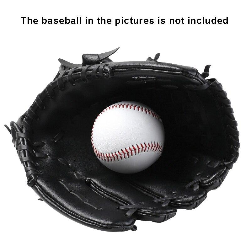 Haben Sie Einen Fragenden Verstand Erwachsene Jugend Baseball Handschuhe Softball Verdicken Durable Weichen Pvc Leder Krug Handschuhe Infield Fänger Sporthandschuhe