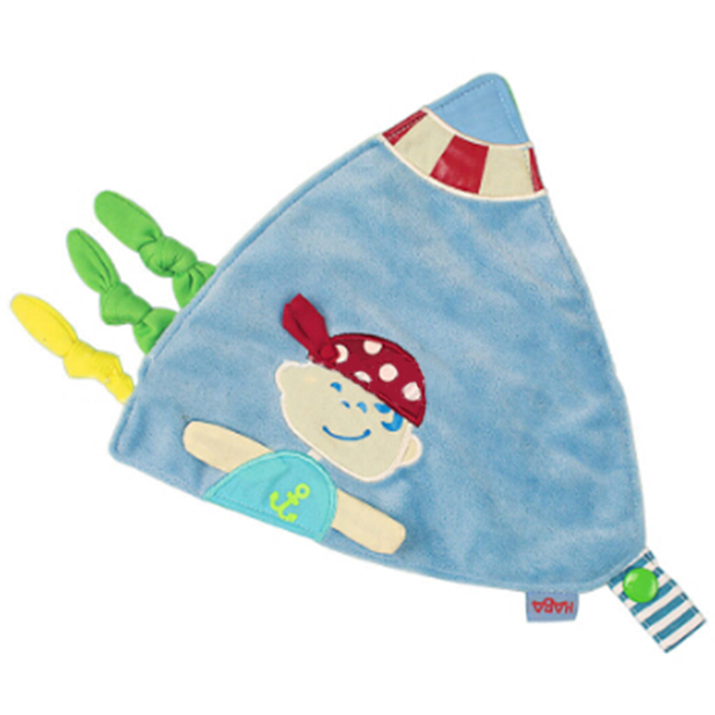 Cartoon Baby Toys Infant  Scarf Appease Towel Baby Rattle Doll Soothe Towel Calm Plush Educational Toys
