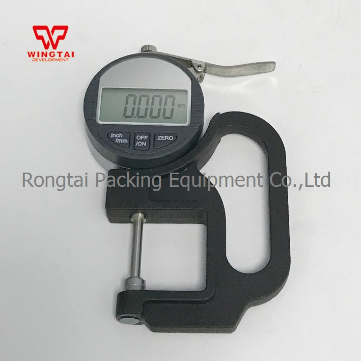 0.001mm Digital Thickness Gauge/ Thickness Meter Measure Range 0-25mm for Paper & Film Thickness Tester cm 8000 hexagon wet film comb for coating thickness tester meter 5mil 118mil