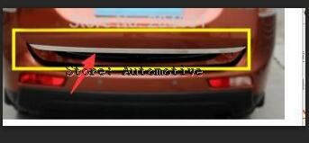 High quality For 2013-2014 2015 <font><b>2016</b></font> for Mitsubishi <font><b>Outlander</b></font> stainless steel Rear Trunk Lid Cover Trim Tail gate trim image
