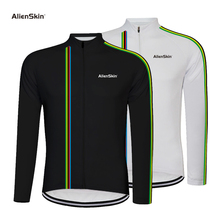 Alienskin Pro Cycling Jersey Long Sleeve Mountain Bicycle Cycling Clothing Quick Dry Breathable MTB Bike Cycling Clothes 6576 недорого