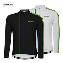 купить Alienskin Pro Cycling Jersey Long Sleeve Mountain Bicycle Cycling Clothing Quick Dry Breathable MTB Bike Cycling Clothes 6576 дешево