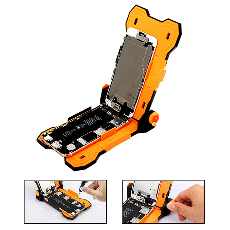 JAKEMY Universal Smart Phone Repair Holder for iPhone 6s 6 Plus PCB Board Holder Work Station For Mobile Phone Repair Tools mobile phone repair tools anti static adjustable lcd screen pcb motherboard support holder plastic tray for iphone smart phone