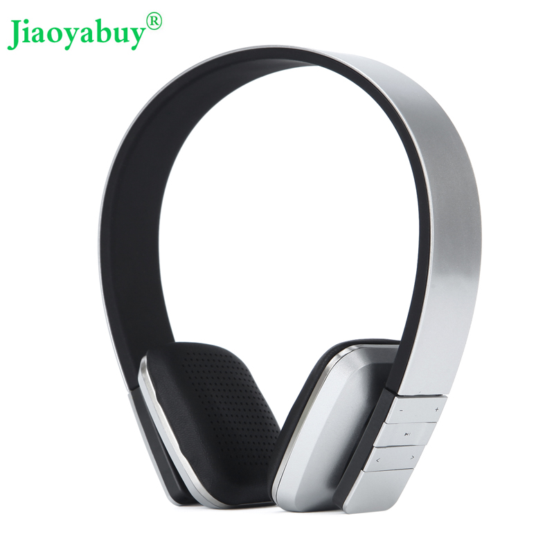 Jiaoyabuy Bluetooth casque sans fil stéréo suppression de bruit casque sport en cours d'exécution écouteurs anti-transpiration avec Microphone