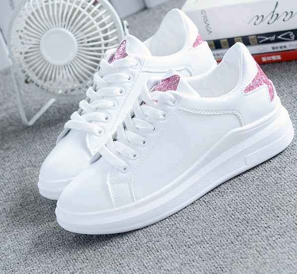 2017 Hot Spring and autumn shoes leisure shoes all-match Korean female  summer thick bottom 177791ee9d52