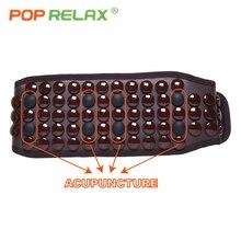 POP RELAX leravan сауна брюшной массажный пояс для похудения для сжигания жира Редуктор потеря Веса Электро стимулятор мышц турмалин