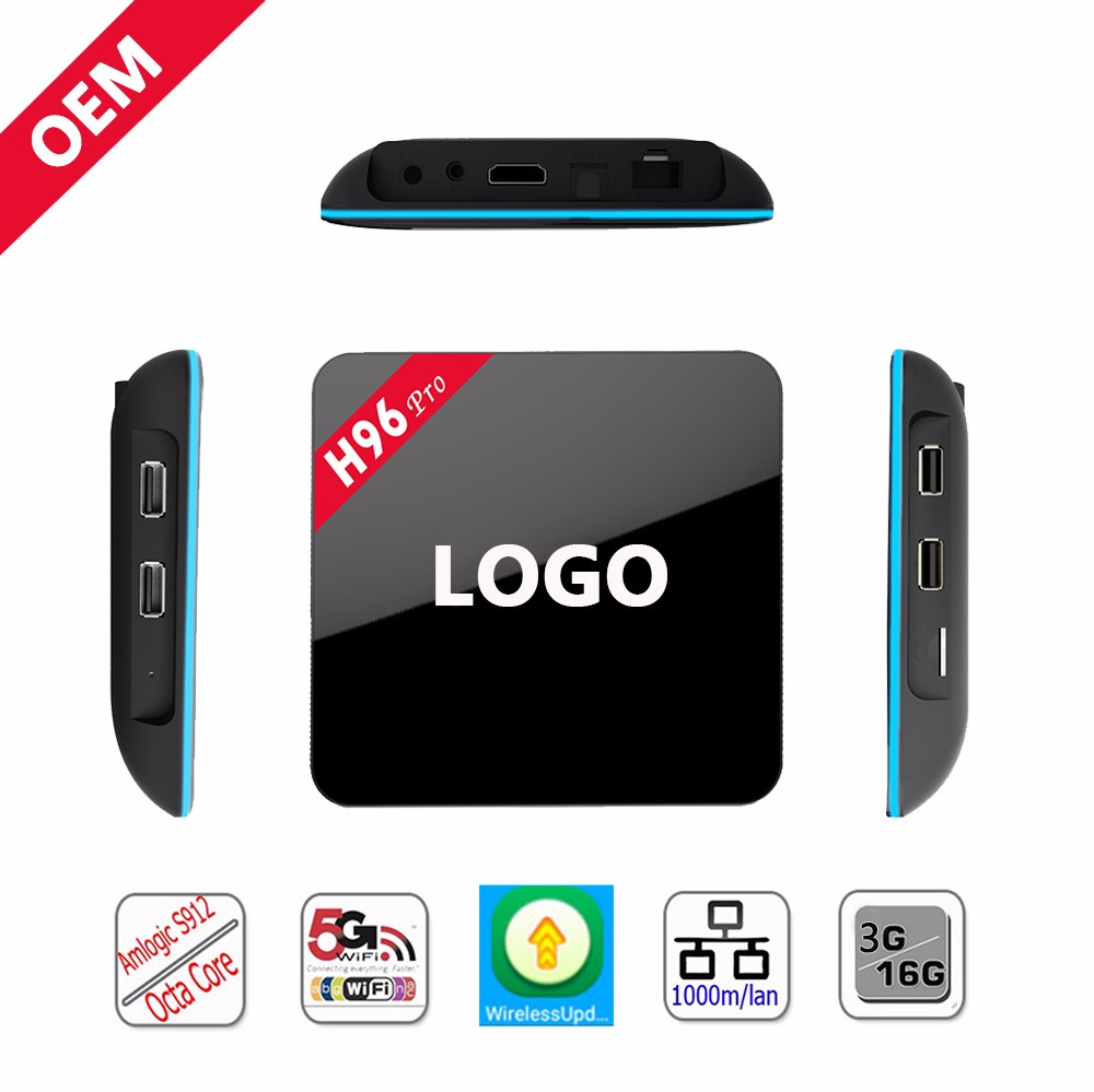 H96 pro-S912 OEM android tv box