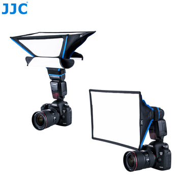 JJC Flash Soft box Photography Universal Studio SpeedLight Diffuser Softbox for CANON YONGNUO Nikon Sony Fujitsu Pentax Light