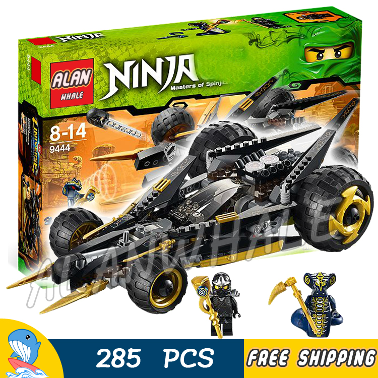 286pcs Bela 9759 Ninja Coles Tread Assault Building Blocks ZX Skales DIY Toys Bricks Compatible With lego bela hero factory brain attack pyrox model building blocks action 3d diy bricks toys compatible with lego