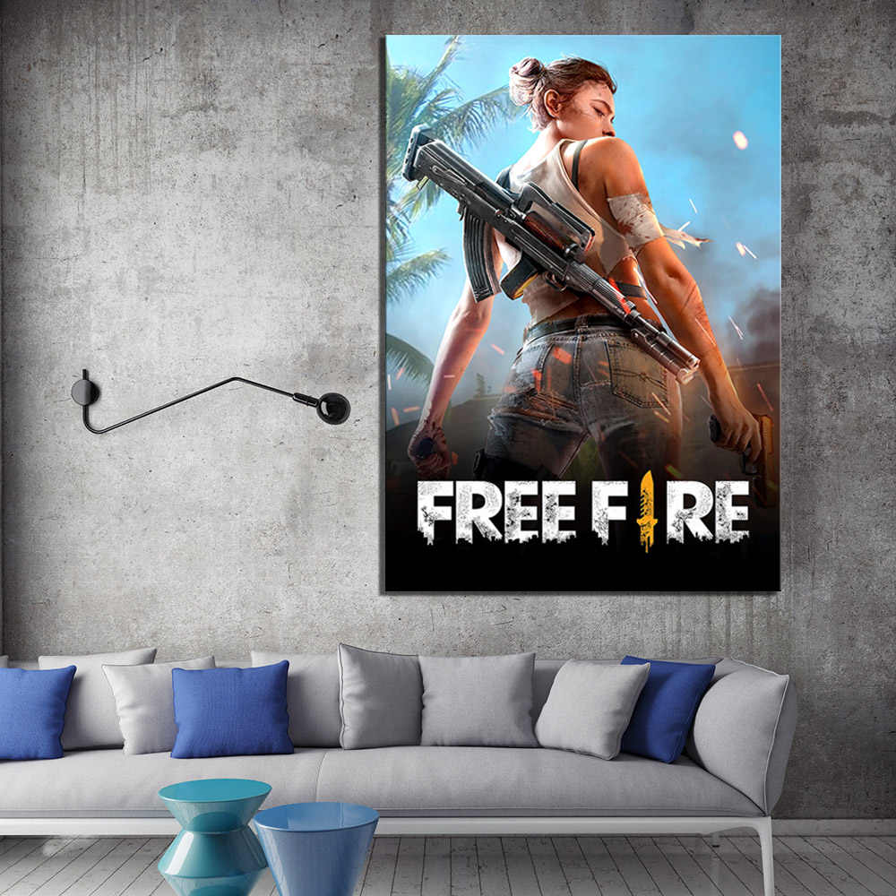 Canvas HD Prints Pictures Wall Art 1 Panel Garena Free Fire ...