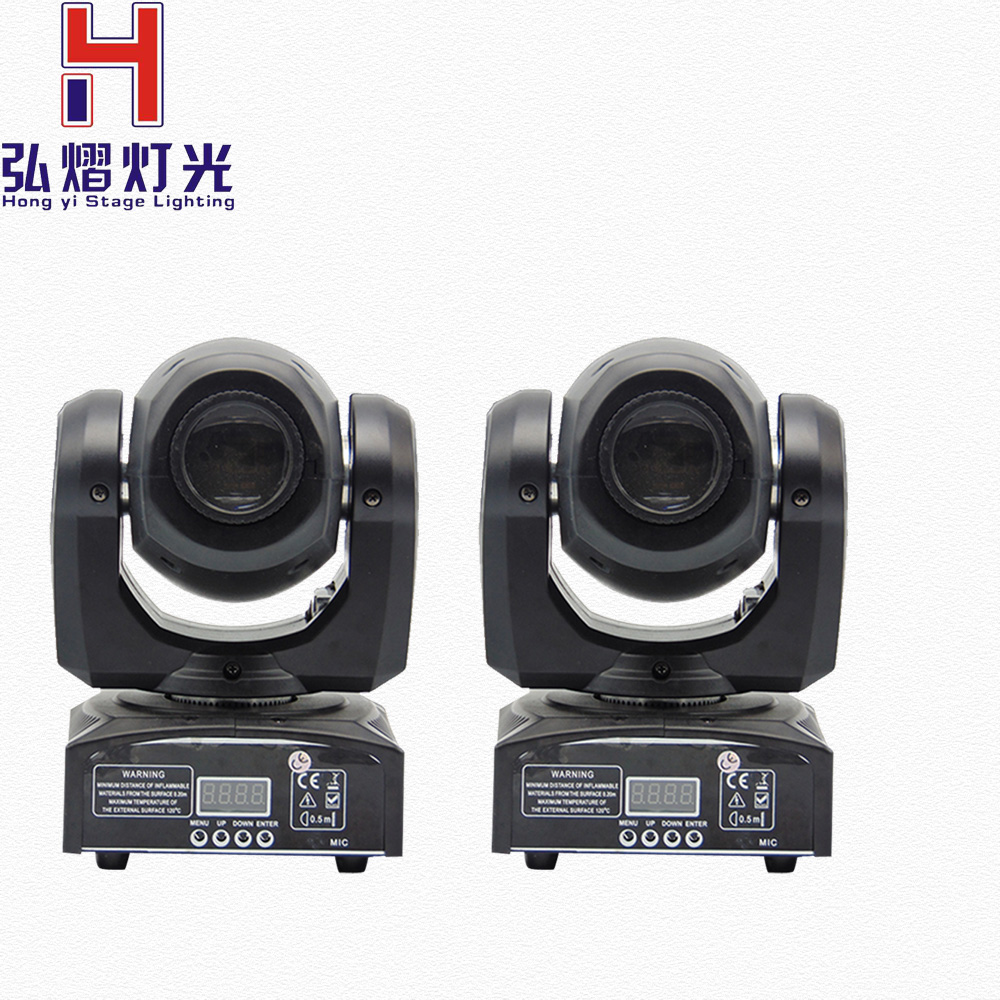 Stage Lighting Portable LED Spot Moving Head 7 Color Light 30W with 9/11 Channel for Party Disco DJ Show KTV DMX-512 6pcs lot white color 132w sharpy osram 2r beam moving head dj lighting dmx 512 stage light for party