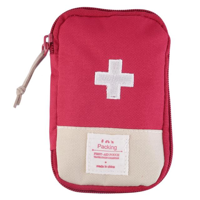 New Outdoor Camping Home Survival Portable First Aid Kit bag Case free shipping
