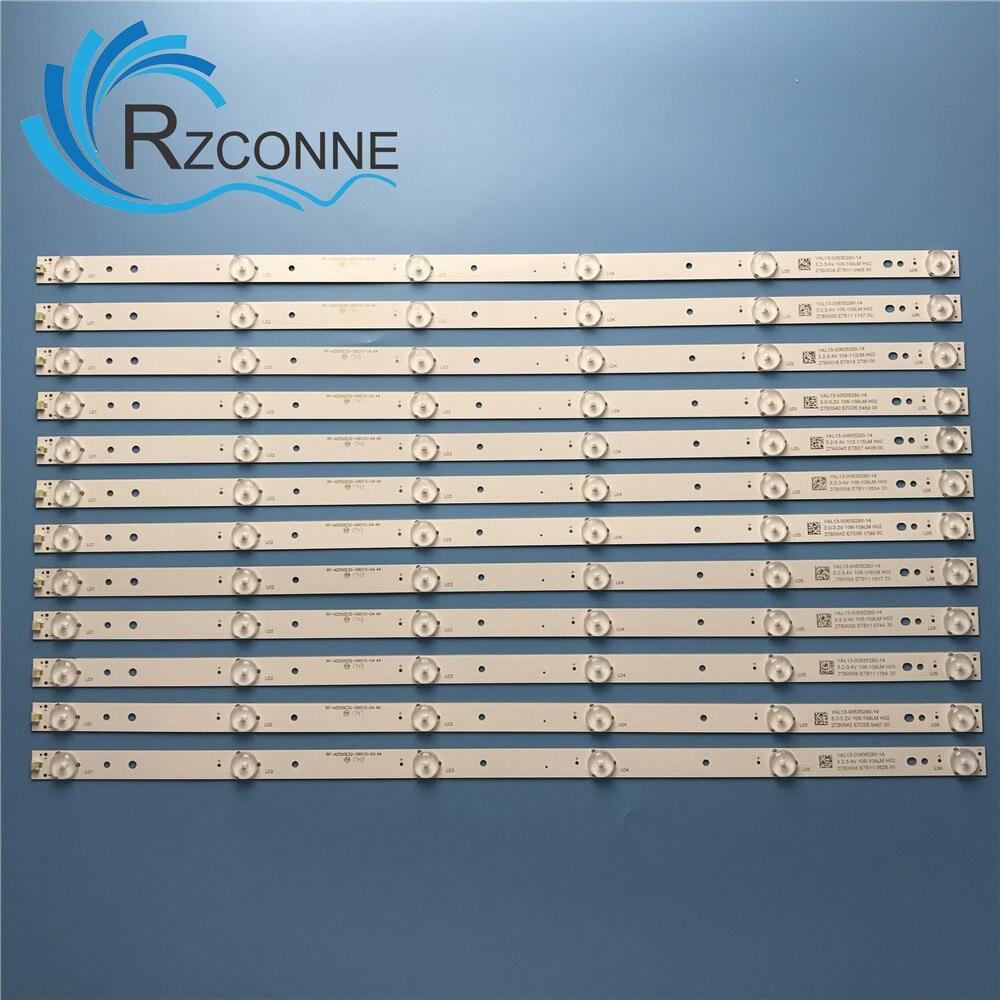 LED Backlight 6 Lamp Strip For RF-AZ550E32-0601S-04 55E3500 55M7 55E366W 55X5 SDL550WY YAL03-00635280-20 55D5-6-X2