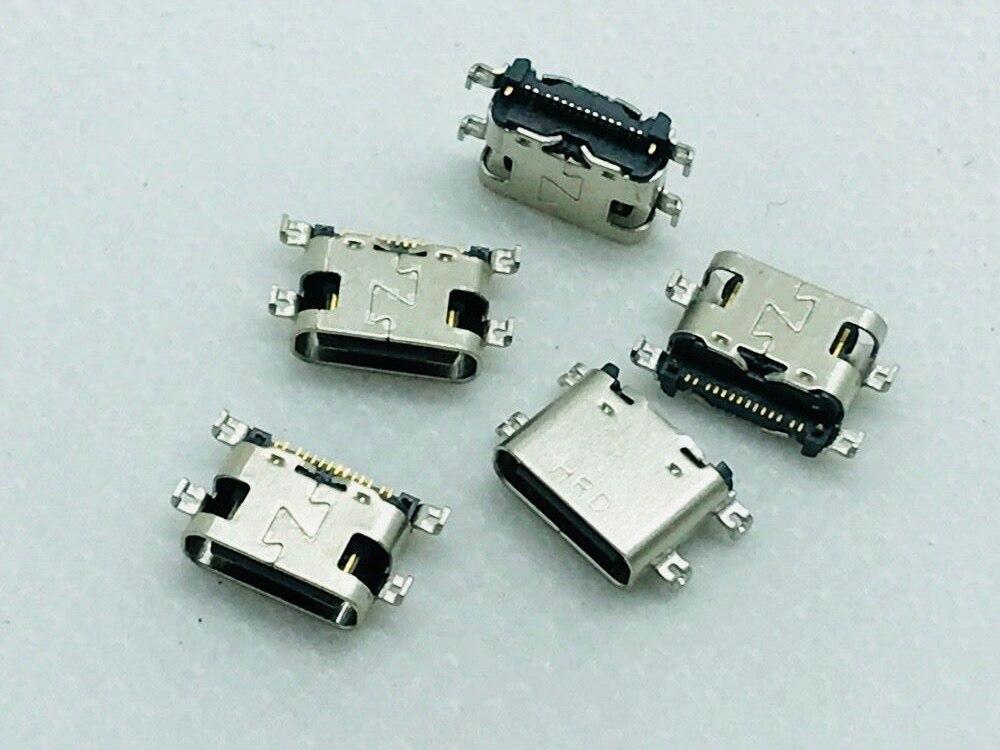 Gimax 20pcs mini usb socket 5p usb 2.0 usb female socket surface mount