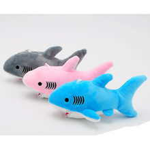 18*10cm Small Plush Shark Key chain Pendant toys Cute Kawaii shark stuffed toys Quality Baby Children Plush Toys Best Gift(China)