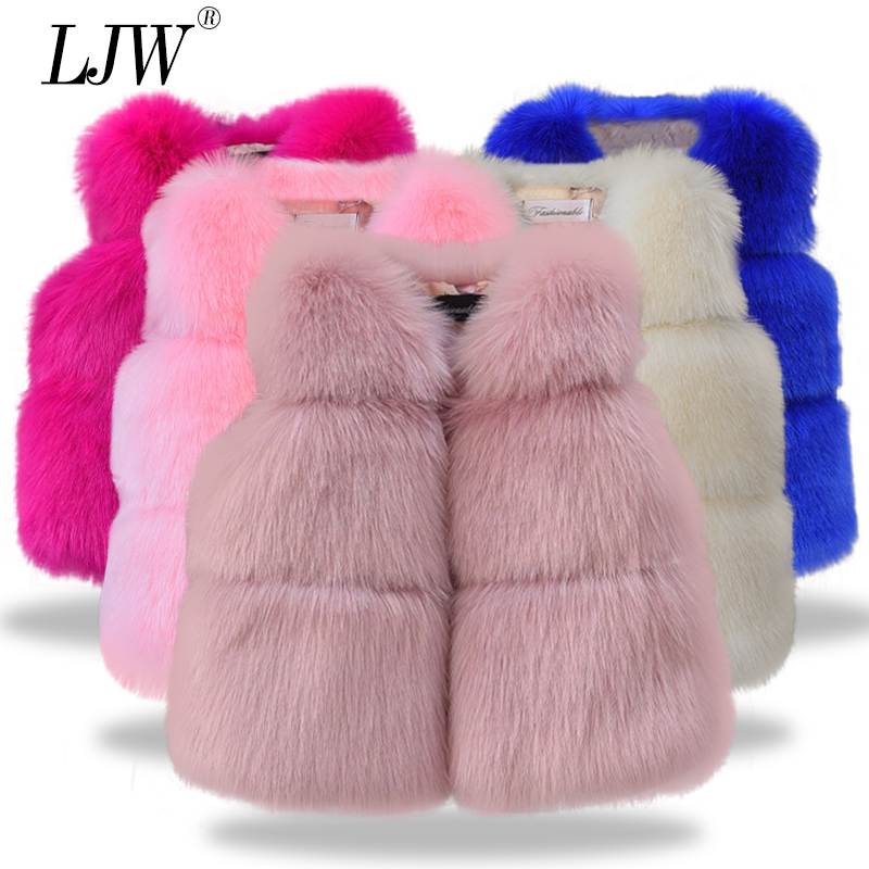 Children fashion clothing Autumn Winter Faux fur Baby Coats for Girls Flower Jackets For Kids Clothes Top baby Girls Outwear spring and autumn kids clothes pu leather girls jackets children outwear for baby girls boys zipper clothing coats costume 4 13y