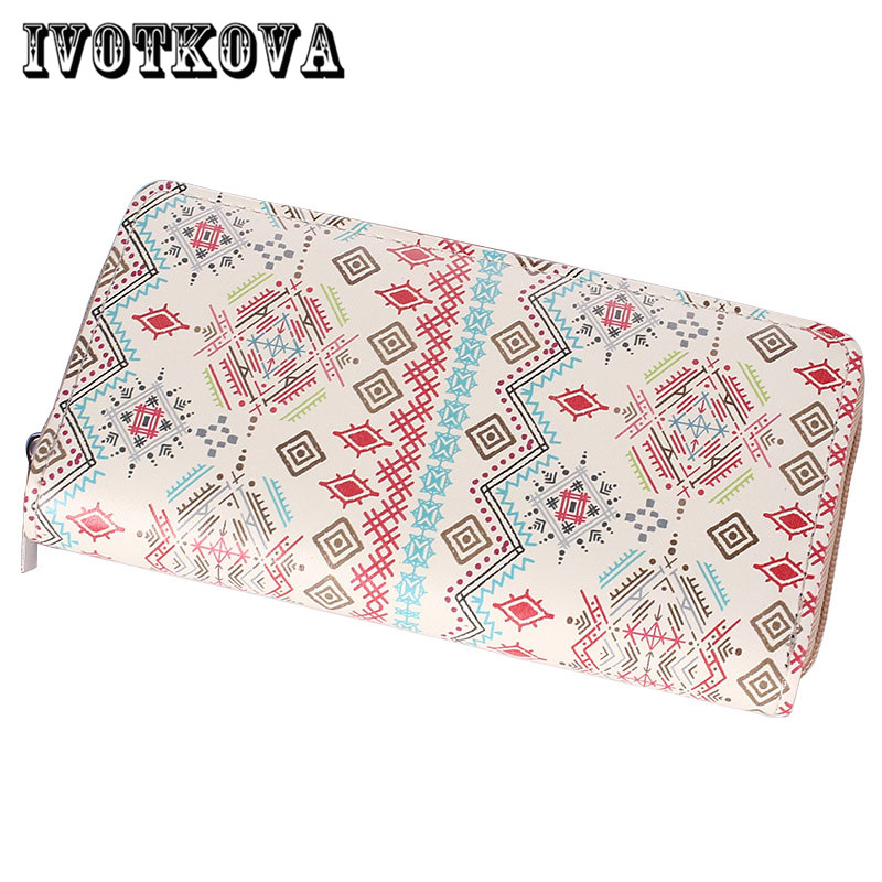 IVOTKOVA 2017 Pu Leather Women Wallet And Purses Coin Purse Female Small Rfid Walet Lady Perse For Girls Money Bag