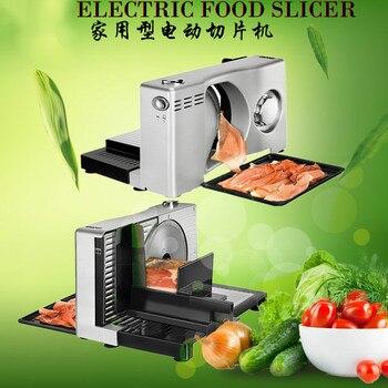 Elektrikli Et Planya Yarı Otomatik Et Dilimleyici Meyve Ve Sebze Dilimleme Aile Mini Katlanabilir Voltaj 100 V ~ 120 V Veya 220 V ~ 240 V