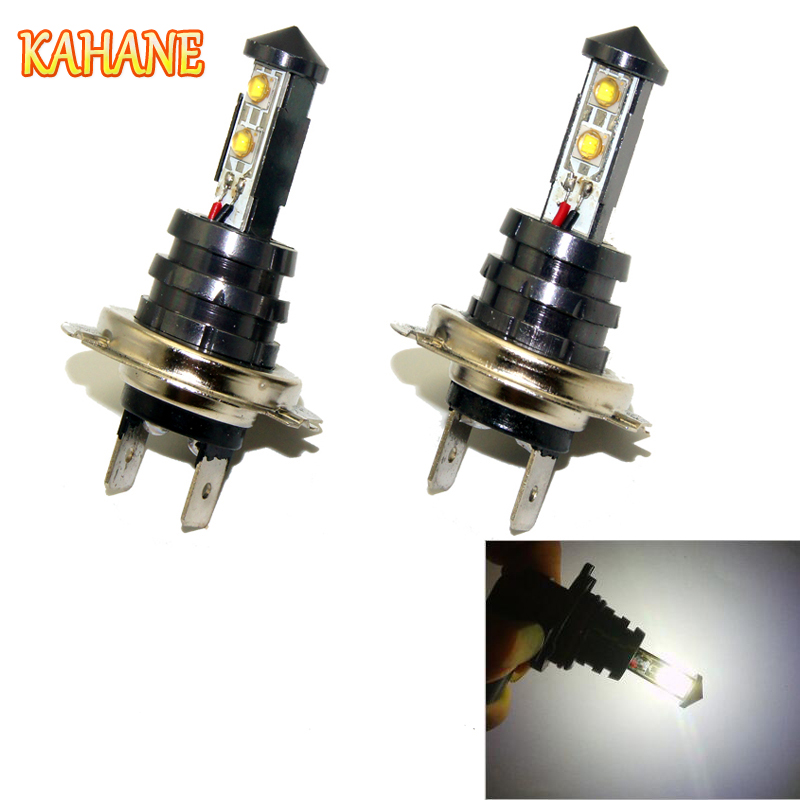 KAHANE 2x 20W <font><b>H7</b></font> <font><b>LED</b></font> Car Light High Power Fog Light <font><b>Headlight</b></font> Bulbs Day time Running Light For <font><b>VW</b></font> T5 Passat Golf Touran <font><b>Polo</b></font> image
