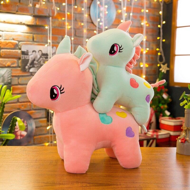 Pillow Toy Unicorn Stuffed Toys For Children Licorne Soft Girl Gifts Kawaii Cute Plush Nordic