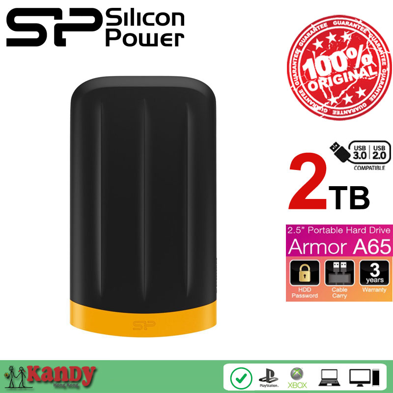 Silicon Power A65 2TB USB 3 0 external hard drive hdd 2 5 hd disco duro