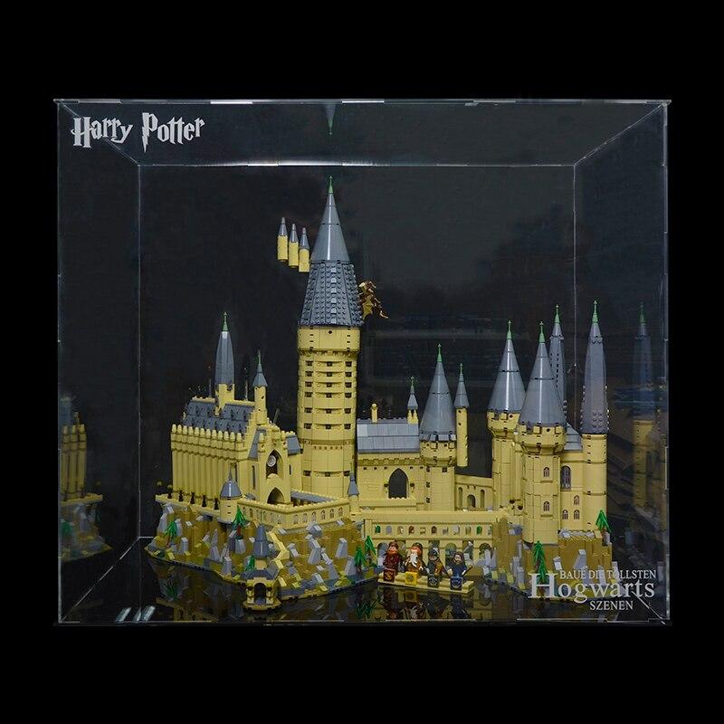 La caja de exhibición para lego harry potter Hogwarts Castle 71043 Harry Potter Hogwarts Castle 16060 bloques de construcción de ladrillos