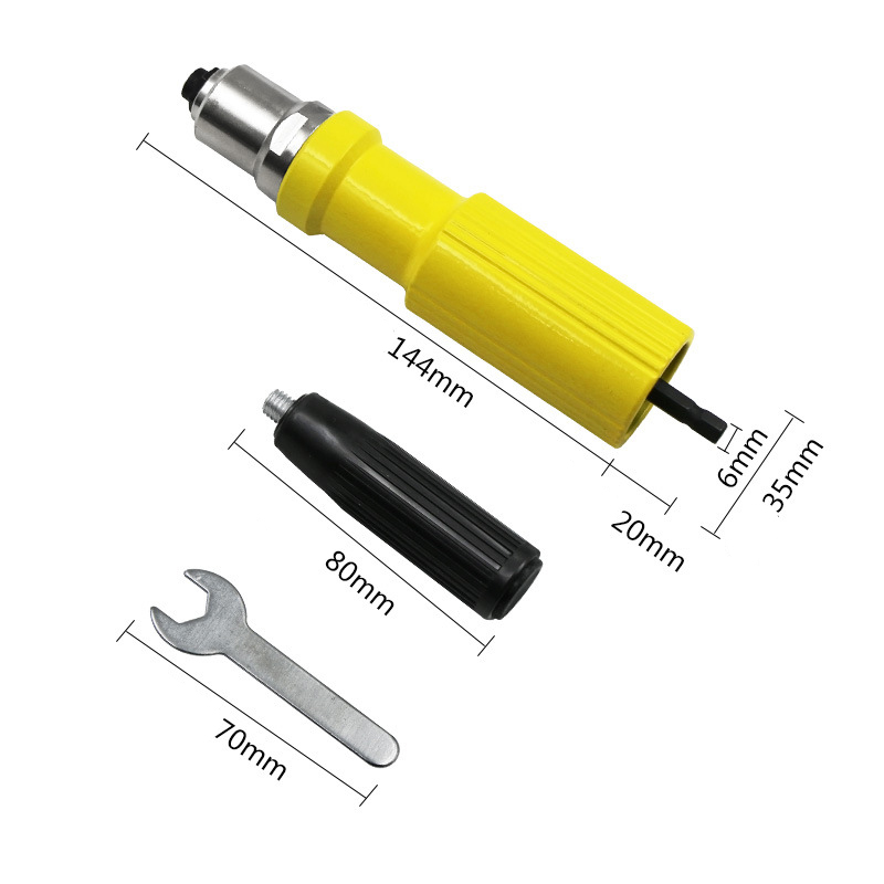Electric Rivet Guns Rivet Machine Pull Pin Conversion Head Accessories Core Pulling Core High Quality Rivet Gun