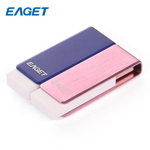 Eaget f50 usb3.0 16 gb 32 gb 64 gb usb flash drive de metal pen drive USB Stick Pendrives 16 GB 32 GB 64 GB Memoria USB A Prueba de agua