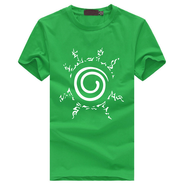 t shirt homme blood youth Uzumaki Naruto