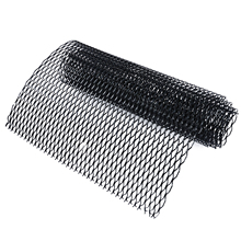 100x33cm Black Universal Car Vehicle Body Grille Net Durable Aluminum Mesh Grill Section for Exterior Bumper Fender Parts