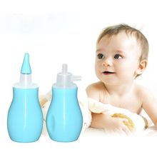 Baby Nose Vacuum Suction Aspirator Safety Booger Cleaner Soft Silicone Head Nasal Kids Mucosa Friendly