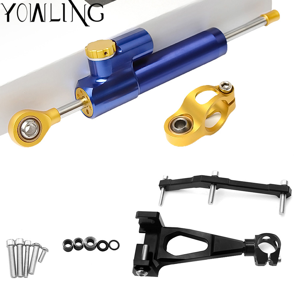 MT 09 MT09 MT 09 Damper Steering StabilizerLinear Reversed Safety Control Over 600CC Bike for YAMAHA
