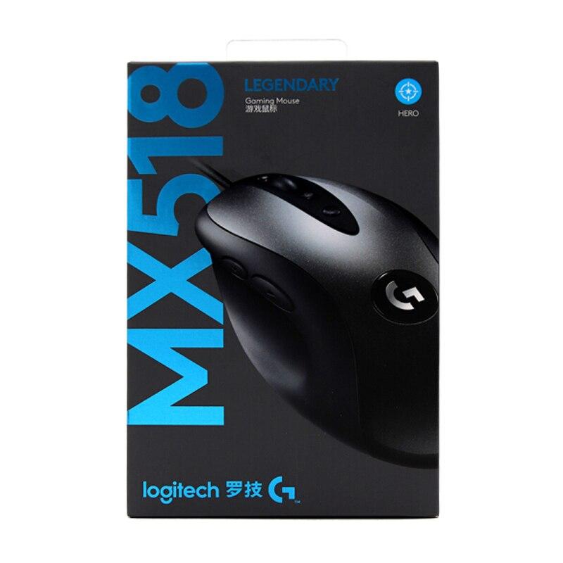 2018 nouvelle version Logitech MX518 16000 DPI souris de jeu classique