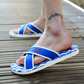 2015Summer slippers Men Casual Flat Sandals, Leisure Soft Slides,EVA Massage Beach sandals slippers Men Size40-45 free shipping