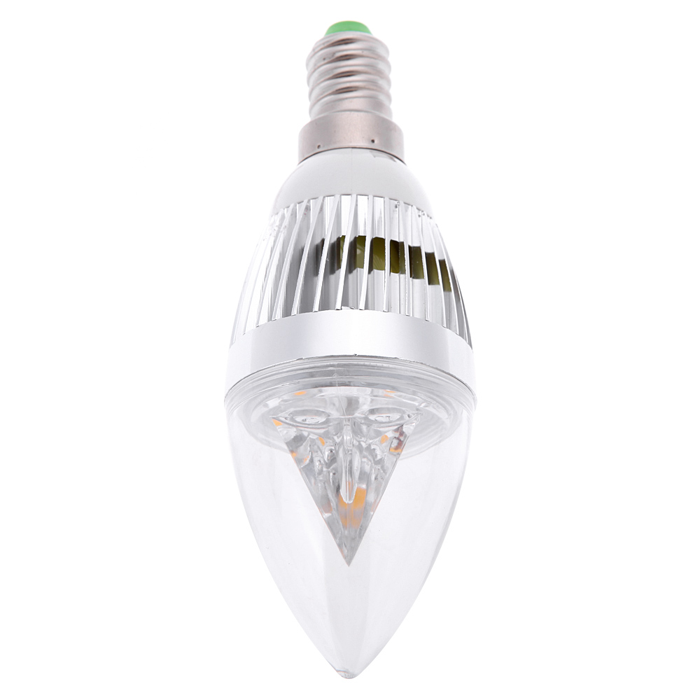 Led Candle Light Bulb Lamp Decoration Bulbs For Chandelier E14 6W ...